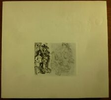 1970 PABLO PICASSO Japanese Exhibition 347 SERIES Catalogue EROTIC ETCHINGS