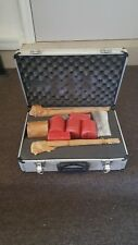 """Padded case with (2) Spline shafts 14-1/4"""" long for large concrete bits."""