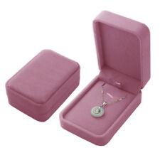 Velvet Jewelry Box Storage Presentation Bracelet Earrings Necklace Ring Case New