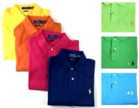 Men's Polo Ralph Lauren Classic Fit Mesh Short Sleeve Casual Fashion Polo Shirt