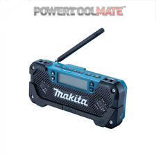 Makita MR052 10.8V CXT CANTIERE AM/FM Radio Unità Nuda