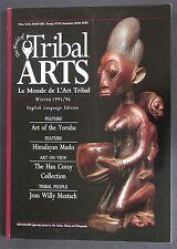 """TRIBAL ARTS"" MAGAZINE ""OUT OF PRINT"" ISSUE 7 WINTER 1995 HIMALAYAN MASKS YORUBA"