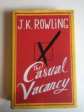 The Casual Vacancy By J. K. Rowling Hardback Copy Good Condition, Free Shipping
