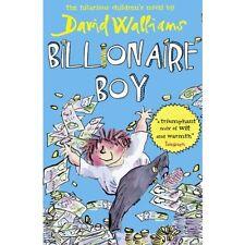 Billionaire Boy David Walliams Book Childrens Story Funny Humour Gift Age 9 - 12