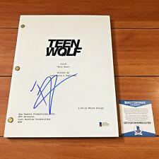 TYLER POSEY SIGNED TEEN WOLF FULL 38 PAGE PILOT SCRIPT w/ BECKETT BAS COA