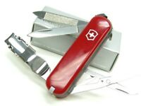 Victorinox Swiss Army 580 Red Multi-Tool Knife Nail Clipper File 6463
