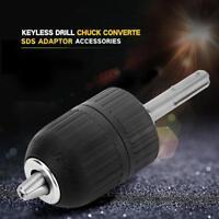 2-13MM SDS MANDRINO AUTOSERRANTE IN PLASTICA PER TRAPANO AUTOBLOCCANTE ADAPTER