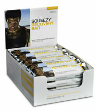 Squeezy Protein Energy Bar Recovery Karton 20 Riegel 50g Vanille