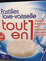 Lot Revendeur Destockage Palette  De 96 Pastilles Lave Vaisselle Tout En 1