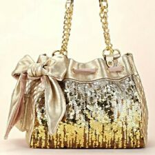Juicy Couture Gold Sequin Daydreamer Purse, Beautiful and Stunning! Pre-loved