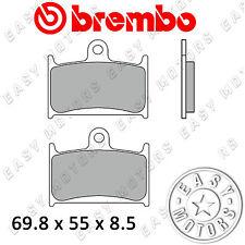 COPPIA PASTIGLIE FRENO BREMBO ANTERIORE SUZUKI GSX-R, RR 400 90> 07SU14.SA