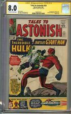 Tales to Astonish #59 CGC 8.0 VF SS STAN LEE HULK vs GIANT-MAN Classic Avengers