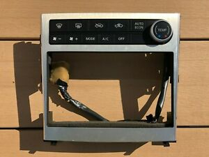 JDM 2006 Nissan Skyline V35 Infiniti G35 Console Panel 2 DIN Double Din Panel