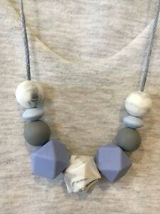 Silicone Sensory Baby (was teething) Necklace for Mum Jewellery Aus Gift Sale