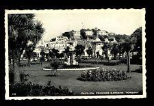 Pavilion, Princess Gardens, Torquay Postcard Used In 1937 #C2647