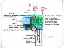 Automatic Pumping Drainage Water Protection Board Water Level Controller Switch