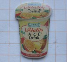 Milram/Vitaly A-C-E Drink... lenesmittel Pin (137b)