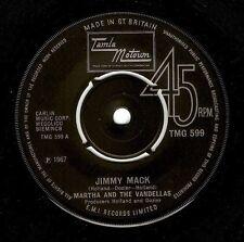 MARTHA REEVES AND THE VANDELLAS Jimmy Mack 7 Inch Tamla Motown TMG 599 1967 EX