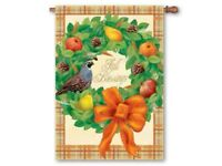 Fall Blessings Decorative House Flag