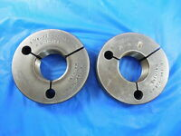 1 3/8 12 NF 3 THREAD RING GAGE 1.375 GO NO GO P.D.'S= 1.3199 & 1.3169 TOOLING