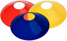 150 Soccer Field Marker Disc/Cones - 50, Yellow, 50 Red & 50 Blue