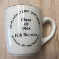Northeastern University Class Of 1968 Reunion Mug