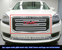 Fits 2013-2016 GMC Acadia SLE W/Logo Show Stainless Steel Mesh Grille Insert