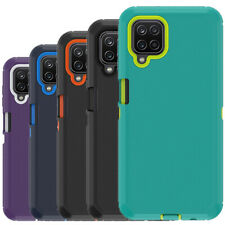 For Samsung Galaxy A12 Case Heavy Duty Shockproof Defender Cover Fits Otterbox