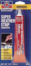 PERMATEX SUPER WEATHER STRIP ADHESIVE 2 OZ 80638