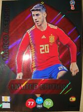 Marco Asensio Limitada Limited Edition Adrenalyn XL Fifa WC Russia 2018 18 Rare