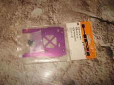 RC HPI Savage 2 mm Purple Alum Engine Plate (1) 86069