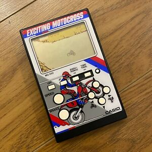 CASIO MG-250 Exciting Motocross 1987 Japan Electronic Hand Held