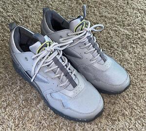 Heelys Force HE100402 Gray /Neon Green Camo Skate Shoes Boys Size 6 Youth