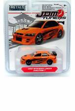2019 Jada Metals JDM Tuners 2002 Mitsubishi Lancer Evolution 7 Orange