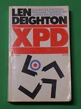 Len Deighton - XPD - Prima Ed. Rizzoli 1984 - Romanzo - Spionaggio