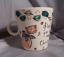Starbucks Coffee Circo Fortuna by Bellini Merry Christmas Happy New Year Mug