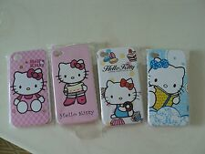 4 PC Hello Kitty Soft Back Cover Case for Apple iPhone 4 4S 4G