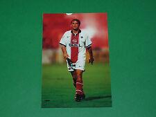 PHOTO CARTE LAURENT FOURNIER PARIS SAINT-GERMAIN PSG 1997 1998