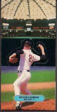 ROGER CLEMENS BOSTON RED SOX PITCHER - 1987 DONRUSS POP-UPS - UNFOLDED - EXMT