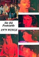 Beatles Paul McCartney Wings 1979 Postcard Set