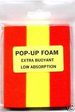 RED & YELLOW POP UP RIG FOAM FOR COARSE CARP FISHING PIKE SNAP TACKLE DEAD BAIT
