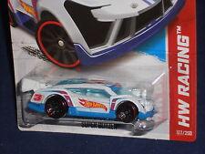Hot Wheels 2013 HW Racing Race Team Series Super Blitzen White w/ J5s