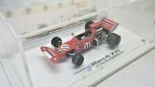 VOLAREBRASIL 1/43 F1 MARCH FORD 711 HOLLYWOOD LUIZ PEREIRA BUENO GP BRASIL 1972