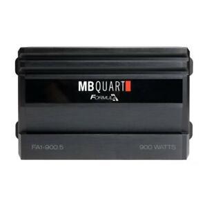 MB Quart FA1-900.5 900 W Max Power 1 Ohm 5 Channel Formula Car Audio Amplifier
