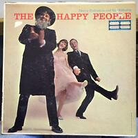 DANNY RUBINSTEIN the happy people LP VG+ UAL 30006 Vinyl 1958 Mono USA