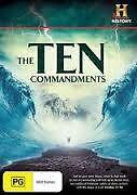 HISTORY: THE TEN COMMANDMENTS (DVD, 2-DISC) R-4, LIKE NEW, FREE POST AUS-WIDE
