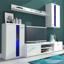 Moderne Wohnwände Life Wohnzimmer-Set Möbel Schrank Lowboard Vitrine Farbauswahl