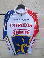 Maillot cycliste COFIDIS Tour de France 2004 ASTARLOA ASKASIBAR O'GRADY shirt XL