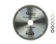TCT Aluminium Circular Saw Blade 210x32x100T  30 25 22,2 20 16   X2