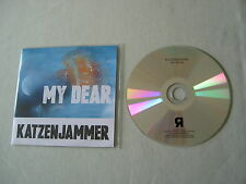 KATZENJAMMER My Dear promo CD single